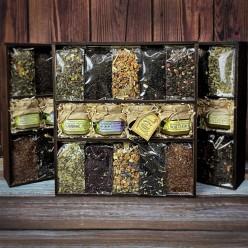 """""""10 видов чая"""" подарочный набор №2"""