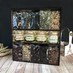 «10 видов чая» подарочный набор №2