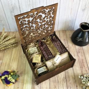 «Шкатулка с кофе» подарочный набор №6