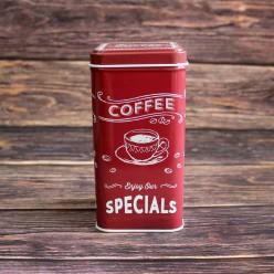 Банка для кофе «Уникальность», металлическая, 100 гр
