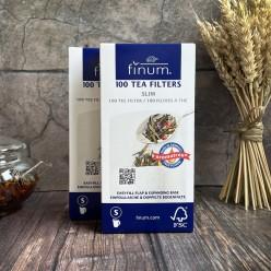 Фильтр-пакеты для заваривания чая Finum, размер S, 100 шт
