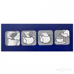 Фильтр-пакеты для заваривания чая Finum, размер L, 100 шт