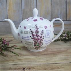 Чайный сервиз «Лаванда», фарфор, Hot Contents