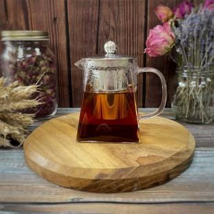 Чайник заварочный с металлической крышкой, 550 мл