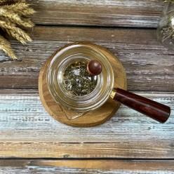 Кюсу, заварочный чайник с сандаловой ручкой, 450 мл