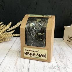 Иван-чай ферментированный со смородиной, 100 грамм