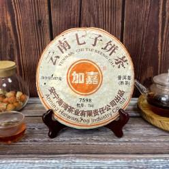 Шу Пуэр, Хайвань, рецептура 7598, 2007 год