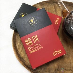 Шу Пуэр Гун Тин (классическая рецептура), фабрика Гу И, Куньмин, 100 грамм