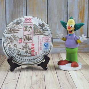 """Шу Пуэр Гун Тин """"Императорский"""", фабрика Мэнку, 2006 год"""