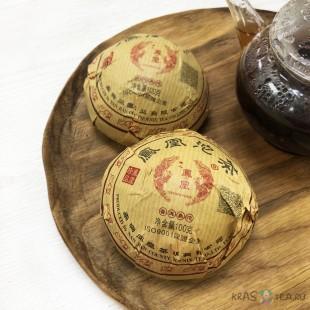 Шу Пуэр «Гнездо Феникса» 2019 год, чайный завод ТуЛин (100 грамм)
