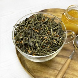 Японский рисовый чай Генмайча (Гэммайтя)