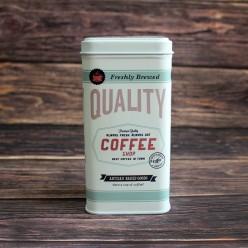 Банка для кофе «Знак качества», металлическая, 100 гр