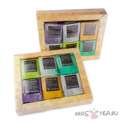 Пакетированный чай «Подарочное ассорти». 6 вкусов (60 шт*2гр)