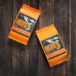 Кофе в зёрнах Никарагуа SHG, упаковка 250 грамм