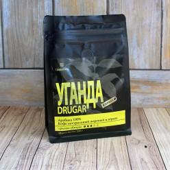 Кофе в зернах Уганда Другар, упаковка 250 грамм