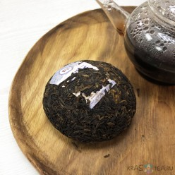 Шу Пуэр V93, Тоу Ча, Менхай, чайный завод ДаИ, 100 грамм